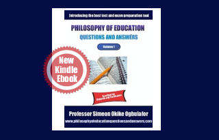 Philosophy of Education Q and A eBook